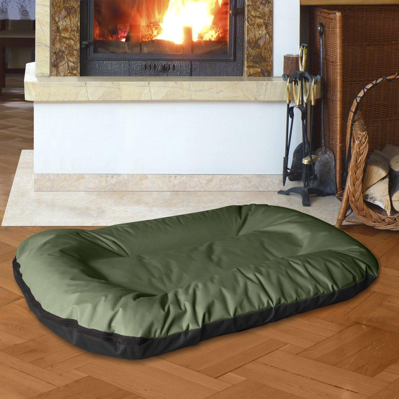 BedDog MASTI 2en1 verde/negro XXXL aprox. 120x105cm colchón para perro, 8 colores, cama para perro, sofá para perro, cesta para perro: Amazon.es: Productos ...