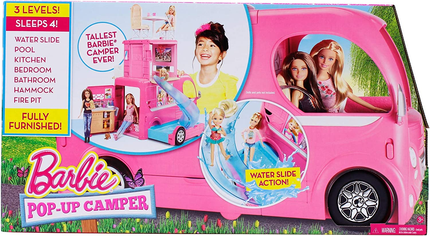 Replacement 2 Seats with Seat belts Barbie Pop Up Camper
