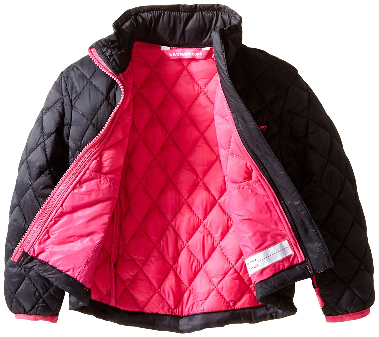 Weatherproof Girls Fashion Outerwear Jacket More Styles Available