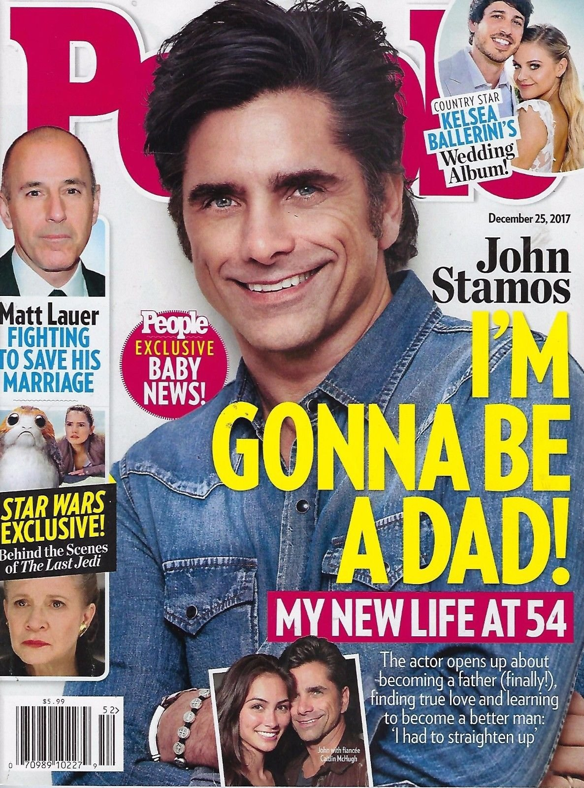 People Magazine ~ December 25, 2017 ~ John Stamos: New Life at 54 ebook