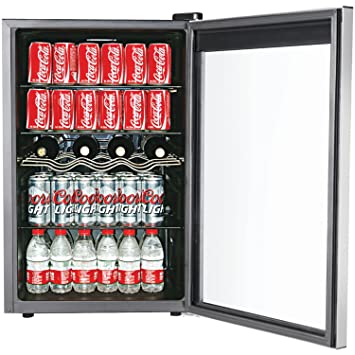 igloo 110 can and 4 wine bottle beverage centerwine cooler - Beverage Center