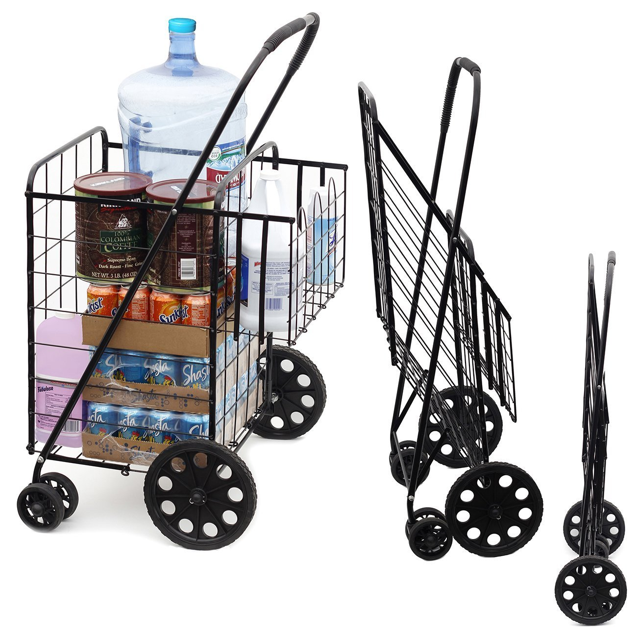 Amazon.com: MOD Complete MDC77037 Double Basket Flat Folding ...