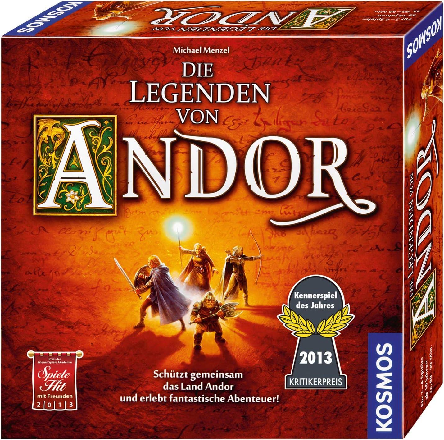 Die Legenden von Andor – Spiel