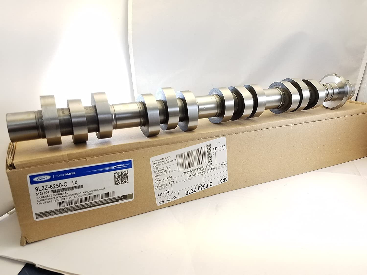Engine Camshaft Ford 9L3Z-6250-C