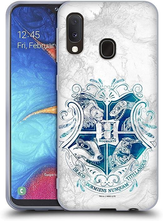 Head Case Designs Offiziell Zugelassen Harry Potter Hogwarts Aguamenti Deathly Hallows Ix Soft Gel Handyhülle Hülle