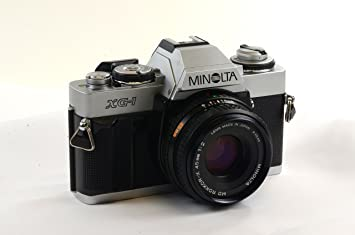 Amazon.com : Minolta XG-1 35mm Camera : Slr Film Cameras : Camera ...