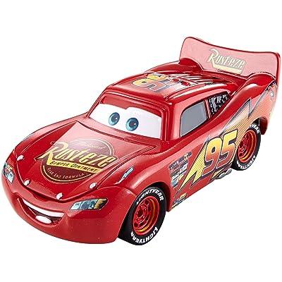 Disney Pixar Cars Precision Series Lightning McQueen Die-cast Vehicle: Toys & Games