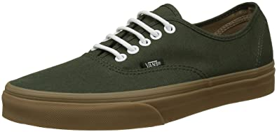Vans Unisex Authentic (Gumsole) Rosin and Light Gum Sneakers - 8 UK India 71ed9353c