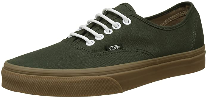 Vans Authentic Sneaker Erwachsene Unisex Grün Gumsole Rosin/Light Gum