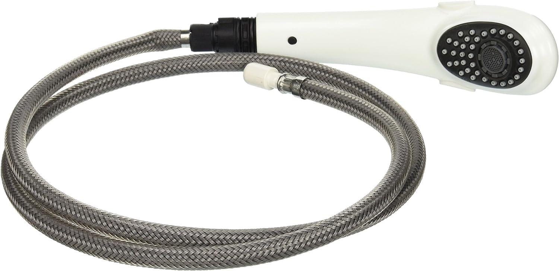 B00084X7KS Delta Faucet RP32542WH Signature Wand Assembly, White 813milZbOCL.SL1500_