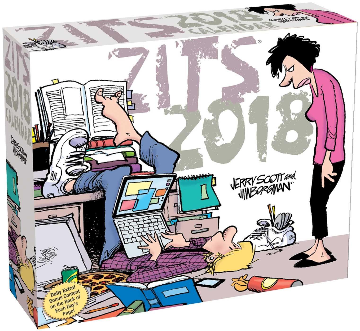 Zits 2018 Day-to-Day Calendar pdf