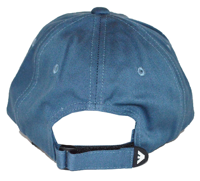 9bff6c9f1d2 Emporio Armani Cap - S627502 - Coastal Blue  Amazon.co.uk  Clothing