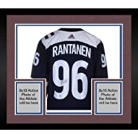 $552 » Framed Mikko Rantanen Colorado Avalanche Autographed Blue Alternate Adidas Authentic Jersey - Fanatics Authentic Certified