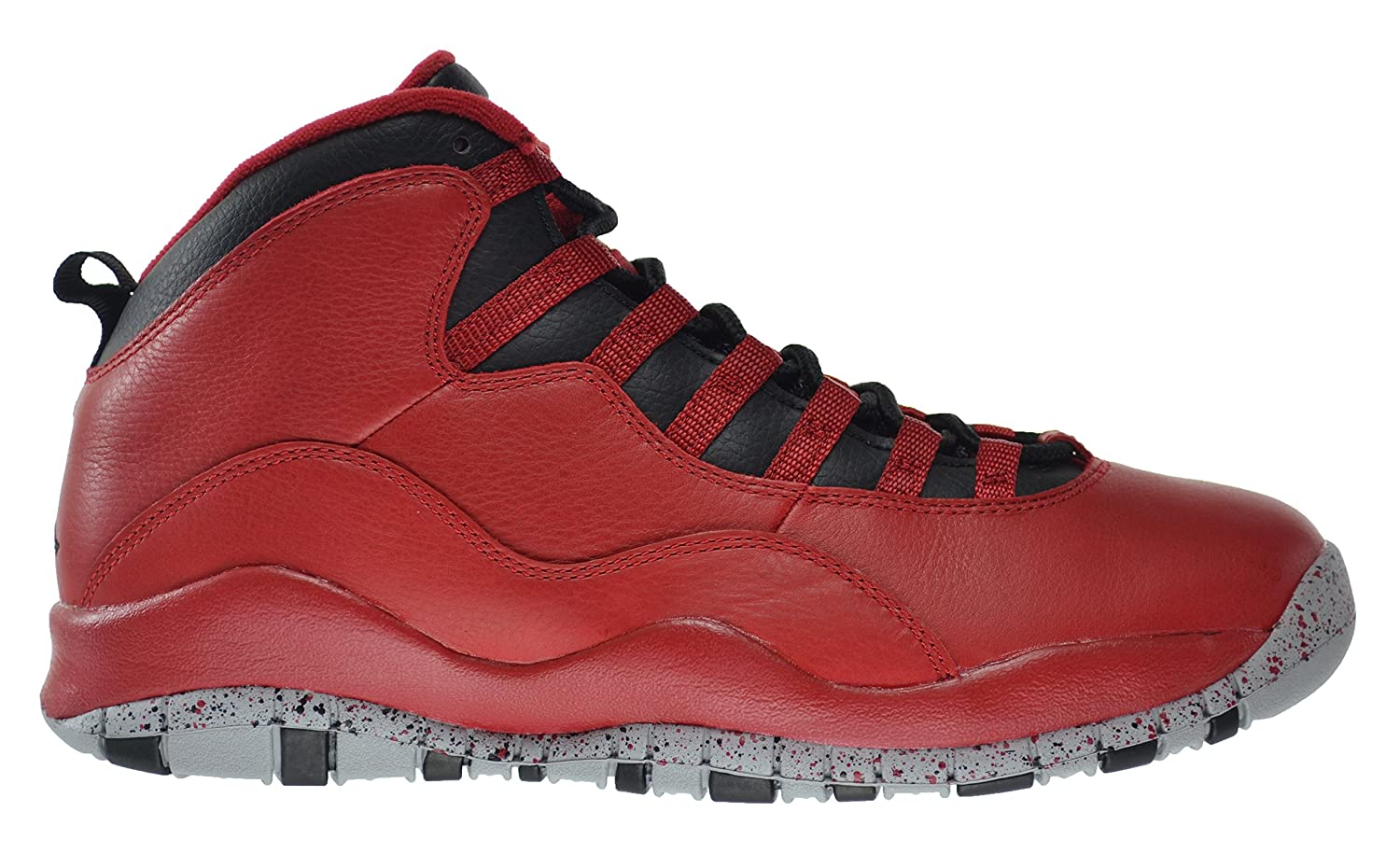 hot sale online 4262e f8e31 Jordan Air 10 Retro 30th Bulls Over Broadway Men's Shoes Gym Red/Black-Wolf  Grey 705178-601