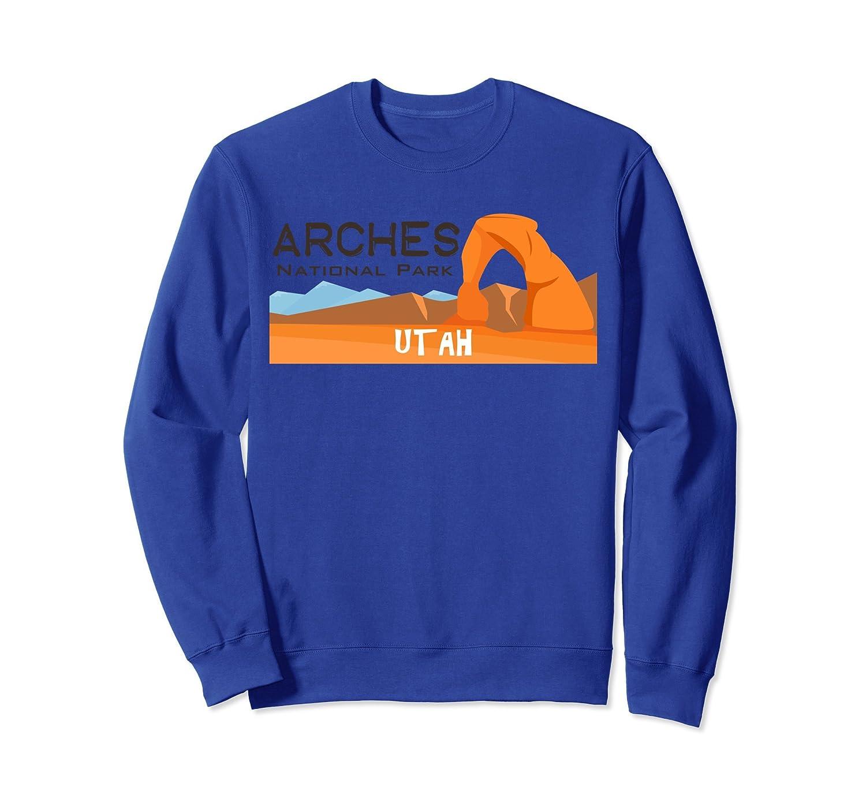 Arches National Park Travel Utah Explore Earth Sweatshirt-ln