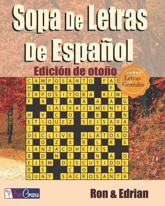 Sopa De Letras De Español: Edición de otoño: Amazon.es: K ...