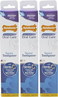 product image for (3 Pack) Nylabone Advanced Oral Care 2.5oz Senior Dog Toothpaste