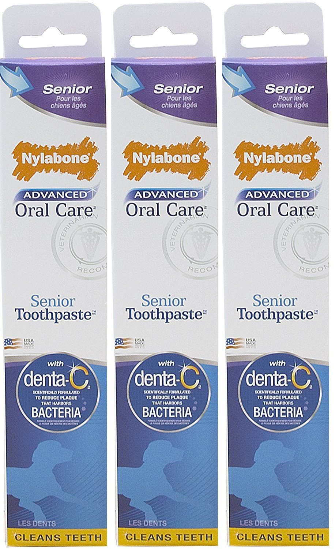 Nylabone Advanced Oral Care Senior Toothpaste