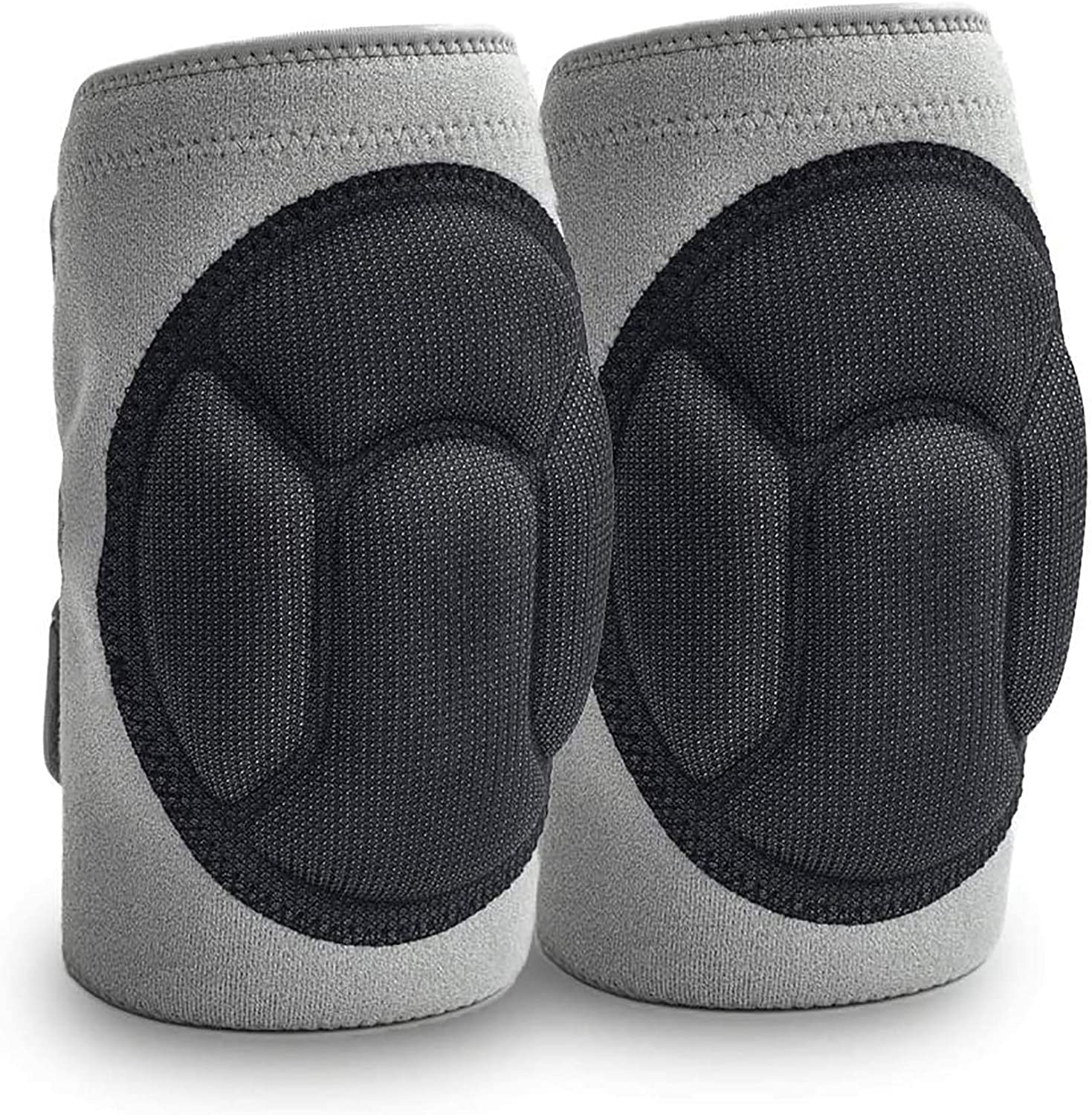 JYSW Knee Pads Gardening & Home, Knee Protectors Protective Cushion with Lightweight EVA Foam Cushion, Soft Inner Liner, Easy Fit with Adjustable Straps for Cleaning Work Scrubbing Floors Pruning