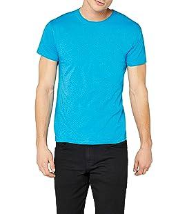 Fruit of the Loom SS022M T-Shirt, Bleu Azur, XX-Large Homme