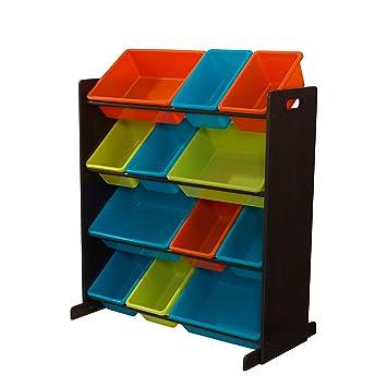 KidKraft Sort It U0026 Store It Bin Unit   Bright