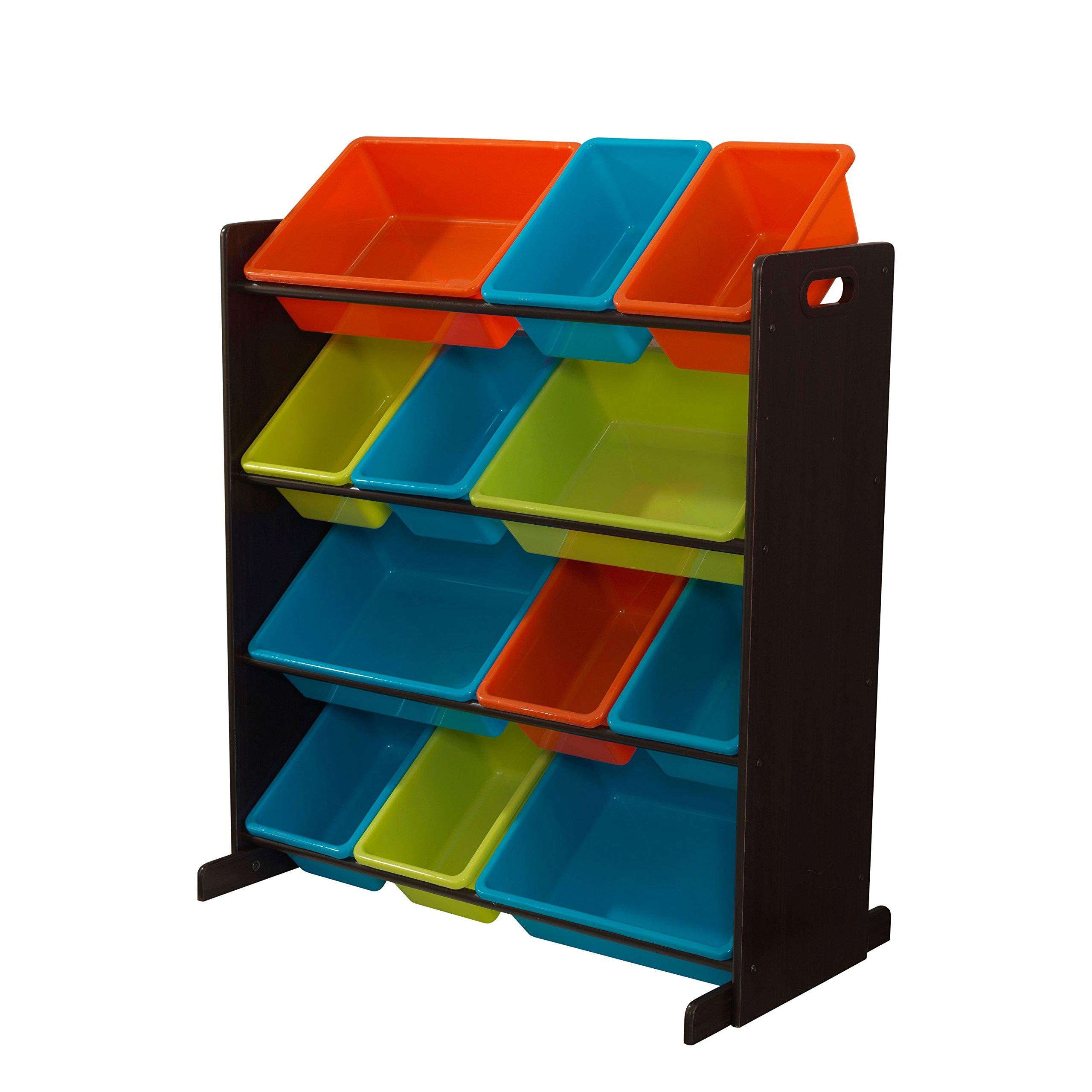 KidKraft Sort It & Store It Bin Unit - Bright