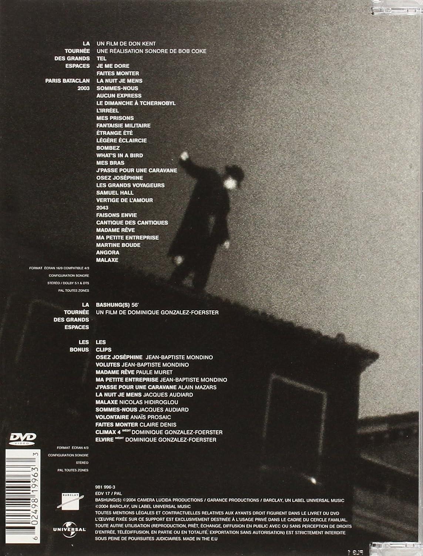 Alain Bashung La Tournee Des Grands Espaces 2 Dvd Amazon It