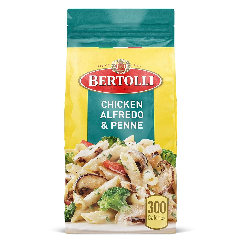 Bertolli Chicken Alfredo & Penne Frozen Meals With Broccoli, Portabella Mushrooms & Tomatoes, 22 oz.
