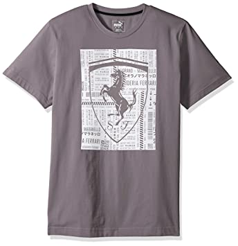 tee shirt puma ferrari homme amazon