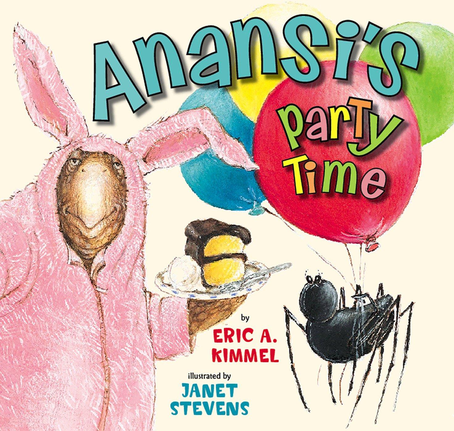 Anansi's Party Time (Anansi the Trickster) pdf