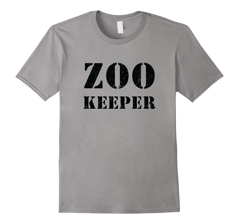 Zoo Keeper Halloween T-Shirt-FL