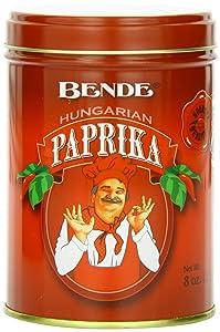 Hungarian Paprika (Bende Hungarian Sweet Paprika), 8 Ounce Tin