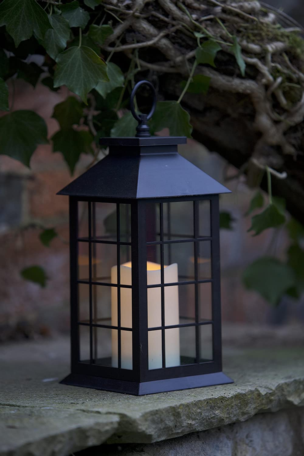 Smart Garden Battery Moroccan Lantern Candle Amazoncouk