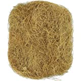 SunGrow 1.5 oz. Coconut Fiber, Comfortable Bedding for Small Birds and Animals, Nest Lining Material, Great for Nest Building