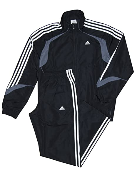 Adidas, tuta Basic con 3 strisce, abbigliamento per l