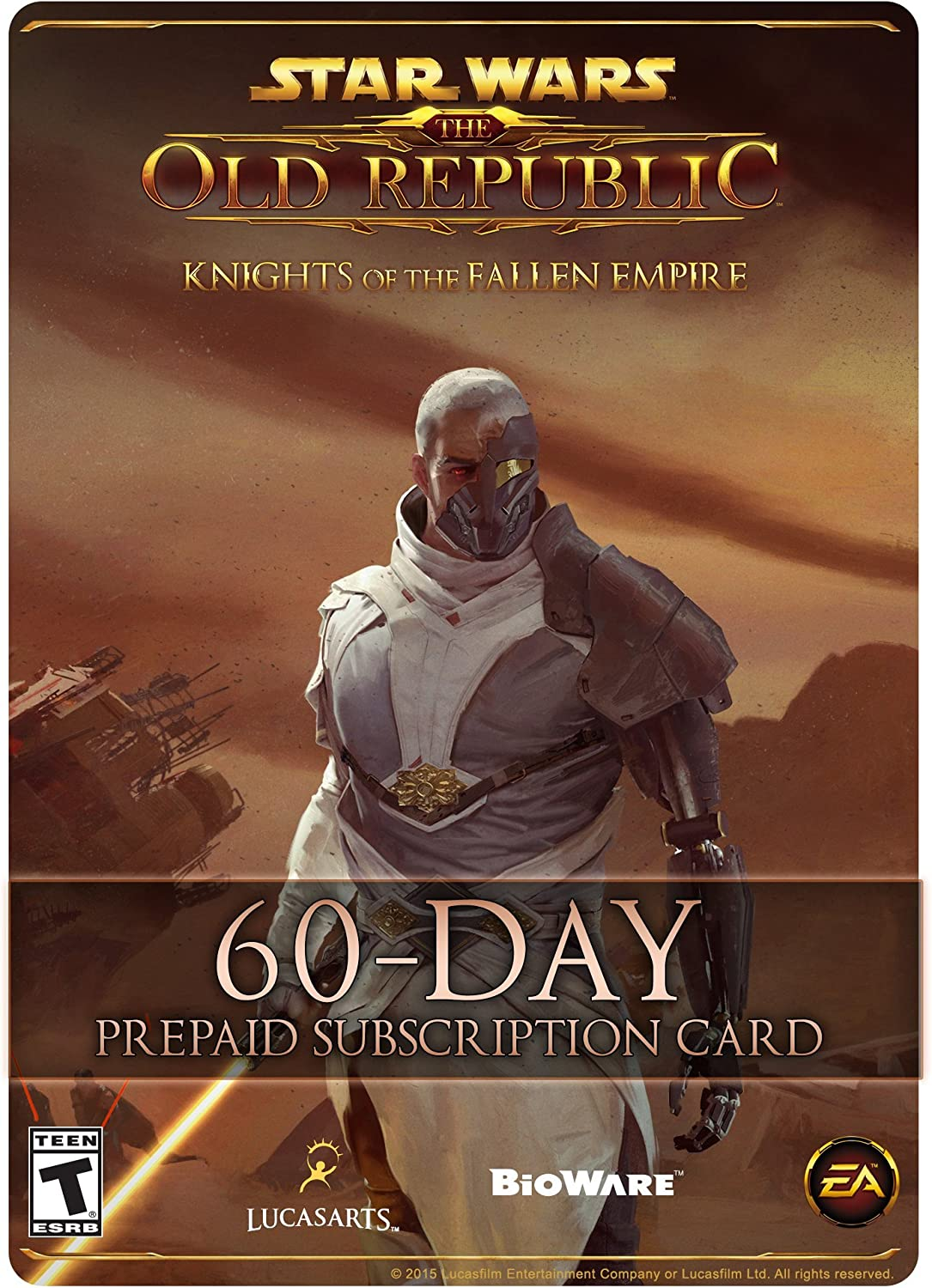 Amazon com: Star Wars: The Old Republic - 60 Day Prepaid