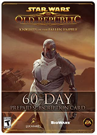 Star wars the old republic 60 day pre paid time card pc online star wars the old republic 60 day pre paid time card pc fandeluxe Image collections