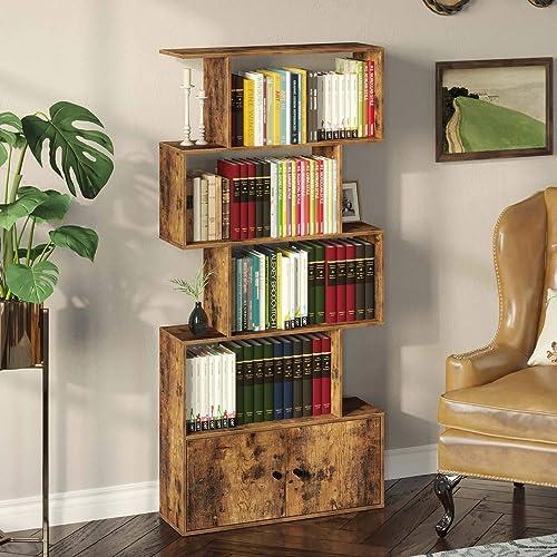 Rolanstar Bookcase Modern Bookcase