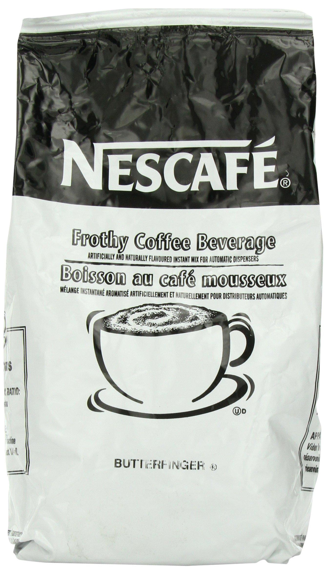 Nescafe Coffee, Butterfinger Cappuccino Mix, 32 Ounce Bag