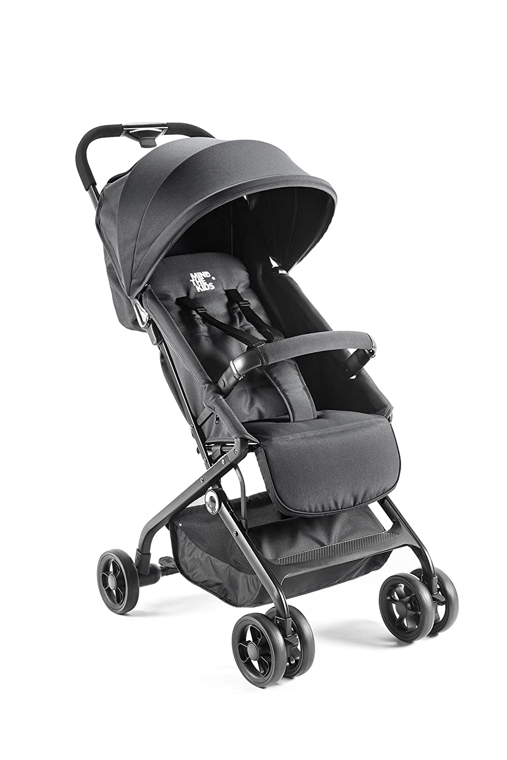 color negro Mind The Kids PST170101 Silla de paseo compacta y ultraligera