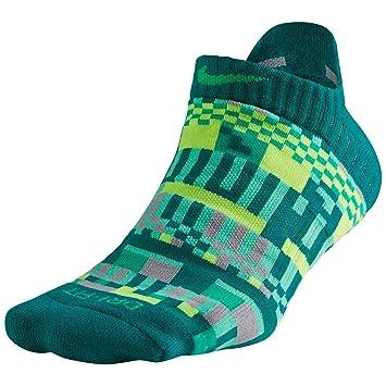 Nike - Calcetines de Entrenamiento para Mujer (3 Pares) - Verde - M: Amazon.es: Ropa y accesorios