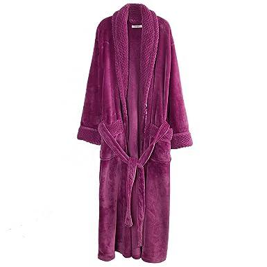 Richie House Women s Plush Soft Warm Fleece Bathrobe Robe RH1591 at ... 54eb4e267