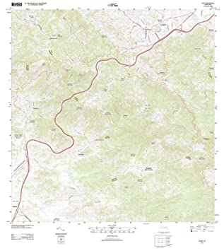 Amazon Com Puerto Rico Maps 2013 Cayey Pr Usgs Historical