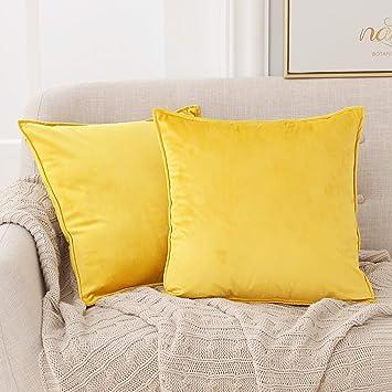 Couverture Couverture 2er Set Couverture Oreiller Coussin Canapé Coussins du canapé couleur taupe or