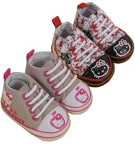 Hello Kitty - Zapatos de bebé - Juego de 2 Hello Kitty color ...