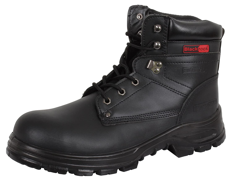 Blackrock SF08, Unisex-Adult Safety Shoes, Black