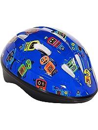 Capstone 64102 Toddler Helmet, Blue Robots