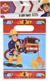 Party bolsas Fireman Sam? - Un tamaño