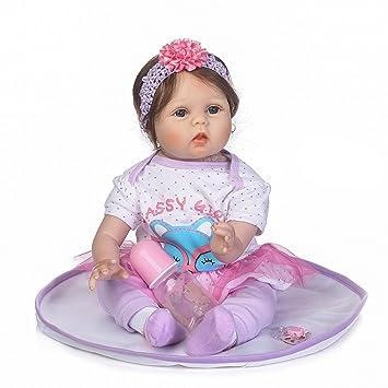 Muñeco de Ropa de Zorro púrpura de 22 Pulgadas Bebé renacido Hecho a ...