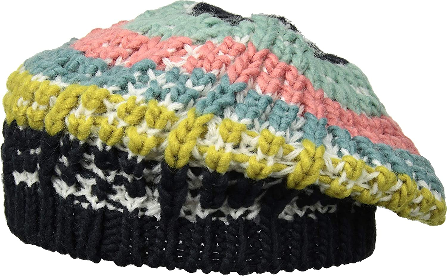 2b126242e067f San Diego Hat Company Women s KNH3542 Knit Beret Multi One Size at Amazon  Women s Clothing store